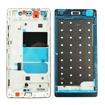 Huawei P8 Lite Voorkant Cover - Wit