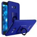 HTC U11 Imak Ring Cover - Blauw