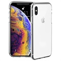Just Mobile Tenc iPhone XS Max Zelfherstellende Cover - Doorzichtig