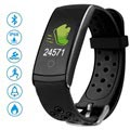 Ksix Fitness Band HR 2 Waterbestendige Activity Tracker - Zwart