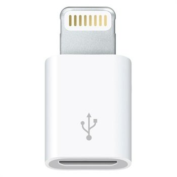 Apple Lightning / Micro USB Adapter MD820ZM/A - iPhone 6 / 6S, iPad Pro - Wit