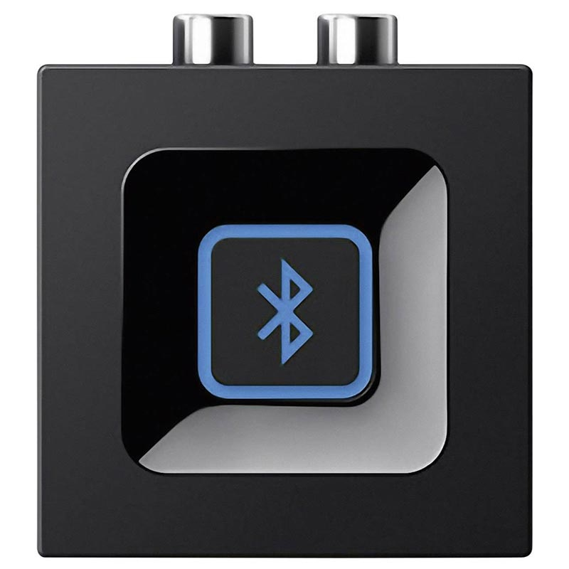 Logitech Bluetooth Audio Adapter - 3.5mm AUX, 2RCA - Zwart