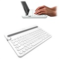 Logitech K480 Bluetooth Multi-Device Toetsenbord - Scandinavische Layout - Wit