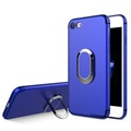 iPhone 7 / iPhone 8 Magnetic Ring Grip Cover - Blauw