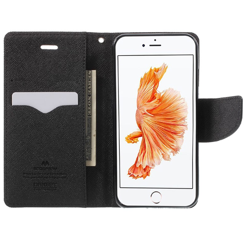 iPhone 7/8/SE (2020) Mercury Goospery Fancy Diary Wallet Case