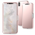 Moshi StealthCover iPhone XS Max Flip Cover - Roze