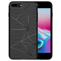 iPhone 8 Plus Nillkin Magic Draadloze Oplaad Case - Zwart