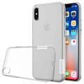 iPhone X Nillkin Nature Series 0.6mm TPU Case - Doorzichtig