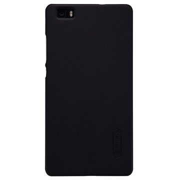 Huawei P8 Lite Nillkin Super Frosted Shield Cover - Zwart
