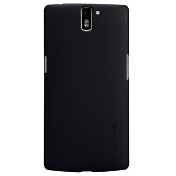 OnePlus One Nillkin Super Frosted Shield Cover - Zwart