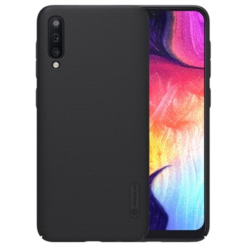 Nillkin Super Frosted Shield Samsung Galaxy A50 Cover - Zwart