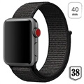 Apple Watch Series 4/3/2/1 Nylon Bandje - 40mm, 38mm