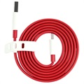 OnePlus USB Type-C Kabel - Rood / Wit