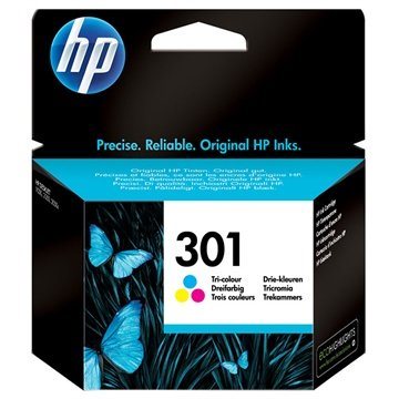 hp 301 multipack inktcartridge deskjet 1000 1050 2540 aio 3 kleuren. Black Bedroom Furniture Sets. Home Design Ideas