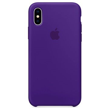 iPhone X Apple Siliconen Hoesje MQT72ZM/A - Ultra Violet