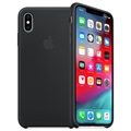 iPhone XS Max Apple Siliconen Hoesje MRWE2ZM/A - Zwart