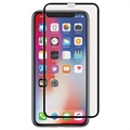 iPhone X Panzer Full-Fit Glazen Screenprotector - Zwart