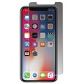 iPhone X Panzer Privacy Glazen Screenprotector - 2-Way