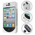 iPhone 4 / 4S Pdair Aluminum Cover - Zilver