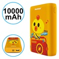Pisen Meatball Stylish Powerbank - 10000mAh - Oranje