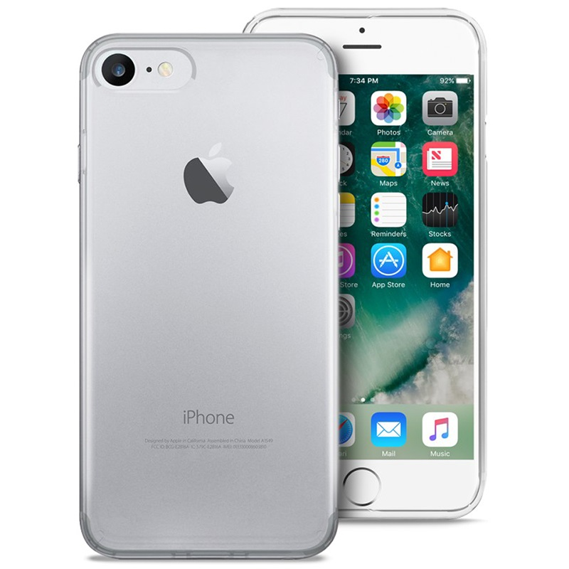 iPhone 7/8/SE (2020) Puro 03 Nude Cover