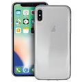 Puro 0.3 Nude iPhone XS Max TPU Case - Doorzichtig