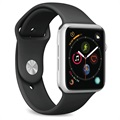 Puro Icon Apple Watch Series 4/3/2/1 Silikon Bandje - 38mm, 40mm