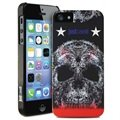 iPhone 5 / 5S / SE Puro Just Cavalli Skull Cover - Zwart