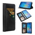 Quickdraw Multi Slot Huawei Mate 20 Pro Wallet Case - Zwart