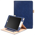 Retro Smart Folio Case - iPad 9.7, iPad Air 2, iPad Air - Donkerblauw