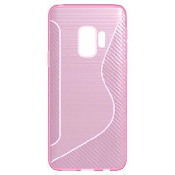 Rose S-line Cas De Tpu Pour Samsung Galaxy S9 kdrlxwTDBp