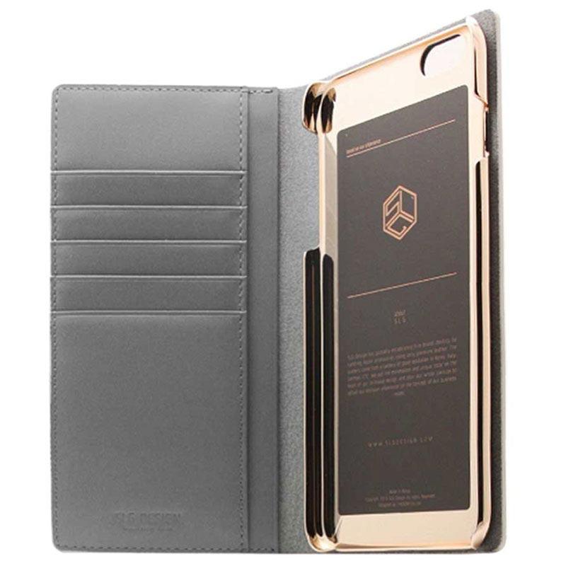 Iphone 6 Plus6s Plus Slg Design D4 Metal Hologram Flip Case