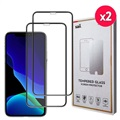 Saii 3D Premium iPhone 11 Glazen Screenprotector - 9H - 2Pcs.