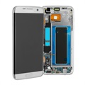 Samsung Galaxy S7 Edge Front Cover & LCD Display GH97-18533B - Zilver