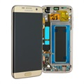 Samsung Galaxy S7 Edge Front Cover & LCD Display GH97-18533C - Goud