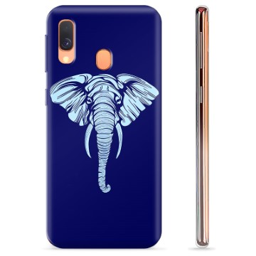 Samsung Galaxy A40 TPU Case - Olifant