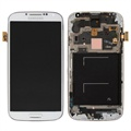 Samsung Galaxy S4 I9500 Front Cover & LCD Display - Wit