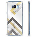 Samsung Galaxy S8 Hybride Case - Abstract Marmer
