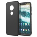 Shock Block Motorola Moto G7 Play TPU Case - Zwart