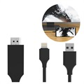 SiGN HDMI / Lightning Kabel voor iPhone/iPad - 2m - Zwart