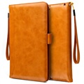 Smart Flip Cover met Hand Strap - iPad 9.7, iPad Air 2, iPad Air - Bruin