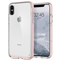 iPhone X Spigen Neo Hybrid Crystal Cover - Rose Gold