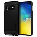 Spigen Rugged Armor Samsung Galaxy S10e Cover - Zwart