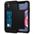 Spigen Slim Armor CS iPhone 11 Cover - Zwart