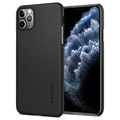 Spigen Thin Fit iPhone 11 Pro Max Cover - Zwart