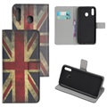 Style Series Samsung Galaxy A20e Wallet Case - Union Jack