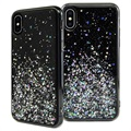 SwitchEasy Starfield iPhone XS Max Hybrid Case - Zwart
