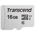 Transcend 300S MicroSDHC Geheugenkaart TS16GUSD300S