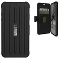 UAG Metropolis iPhone XS Max Rugged Wallet Case - Zwart