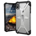 UAG Plasma Series iPhone XS Max Cover - Doorschijnend / Zwart